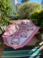 Babababy Girl Pink Baby Blanket